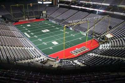 Jacksonville Veterans Memorial Arena, vak: 315, rij: F, stoel: 7