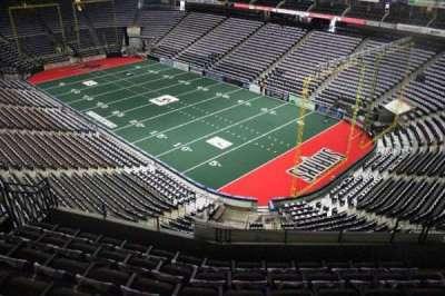 Jacksonville Veterans Memorial Arena, vak: 317, rij: F, stoel: 7