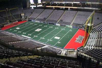 Jacksonville Veterans Memorial Arena, vak: 317, rij: G, stoel: 2