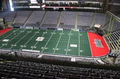 Jacksonville Veterans Memorial Arena, vak: 319, rij: G, stoel: 8