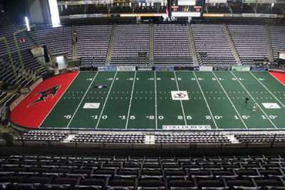 Jacksonville Veterans Memorial Arena, vak: 321, rij: F, stoel: 10