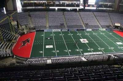 Jacksonville Veterans Memorial Arena, vak: 322, rij: F, stoel: 9