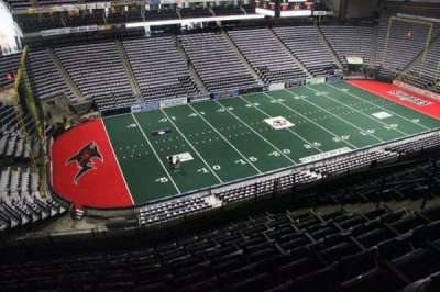 Jacksonville Veterans Memorial Arena, vak: 323, rij: K, stoel: 9