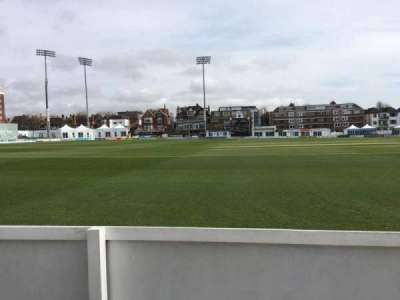 County Cricket Ground (Hove), vak: Grand Stand C, rij: A, stoel: 43