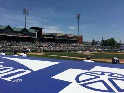 TD Bank Ballpark, vak: 115, rij: C, stoel: 3