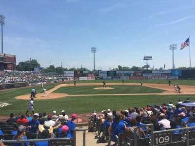 TD Bank Ballpark, vak: 207, rij: K, stoel: 1