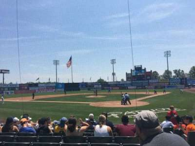 TD Bank Ballpark, vak: 104, rij: J, stoel: 2