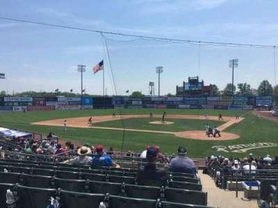 TD Bank Ballpark, vak: 206, rij: R, stoel: 1