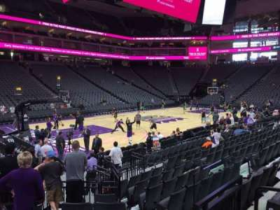 Golden 1 Center vak 110