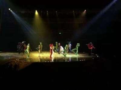 Royal Albert Hall, vak: Stalls H, rij: 11, stoel: 32