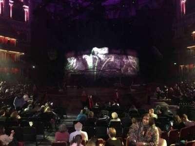 Royal Albert Hall, vak: Stalls K, rij: 7, stoel: 78