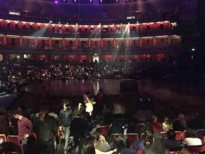 Royal Albert Hall, vak: Stalls M, rij: 9, stoel: 133