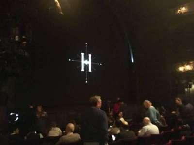 Palace Theatre (West End), vak: Stalls, rij: H, stoel: 28