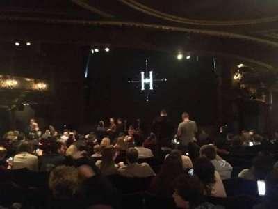 Palace Theatre (West End), vak: Stalls, rij: Q, stoel: 8