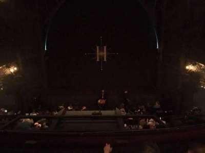 Palace Theatre (West End), vak: Dress Circle, rij: B, stoel: 18