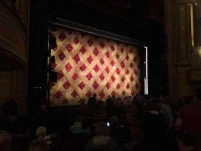 Forrest Theatre, vak: Orchestra B, rij: N, stoel: 21