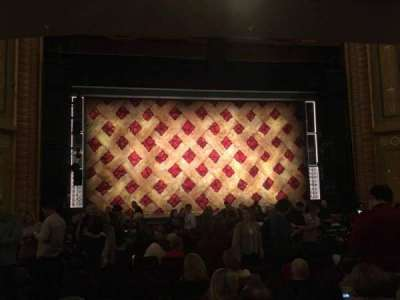 Forrest Theatre, vak: Orchestra C, rij: R, stoel: 113