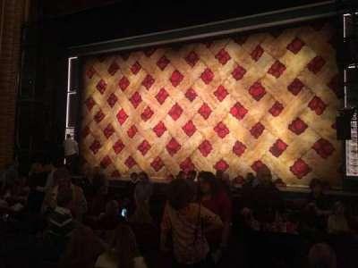 Forrest Theatre, vak: Orchestra D, rij: K, stoel: 2
