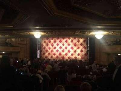 Forrest Theatre, vak: Orchestra D, rij: Y, stoel: 4