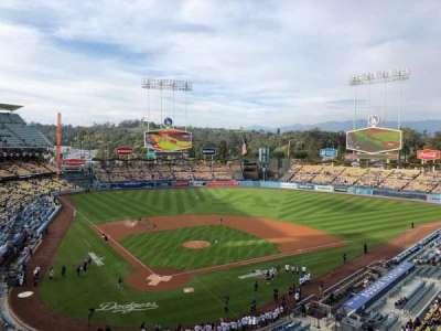 Dodger Stadium, vak: 4RS, rij: A, stoel: 9