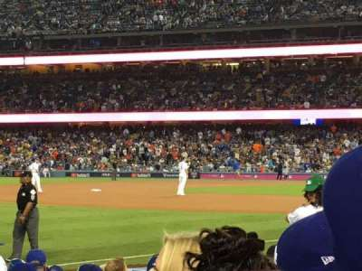 Dodger Stadium, vak: 41FD, rij: D, stoel: 5