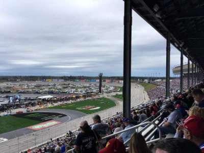 Atlanta Motor Speedway, vak: 245, rij: 58, stoel: 11