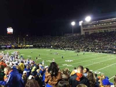 Vanderbilt Stadium, vak: U, rij: 11