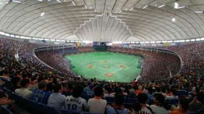 Tokyo Dome, vak: 41, rij: 8, stoel: 30