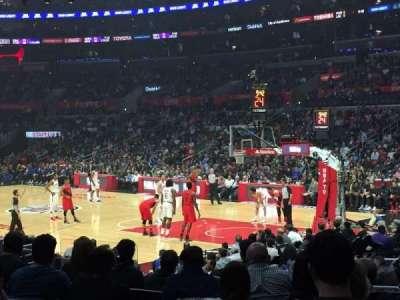 Staples Center, vak: 108, rij: 13, stoel: 16