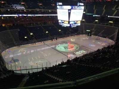 Nationwide Arena, vak: 206, rij: B, stoel: 4