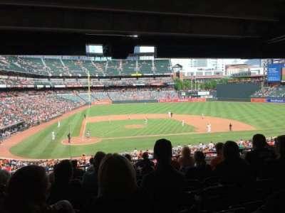 Oriole Park at Camden Yards, vak: 27, rij: 10, stoel: 13