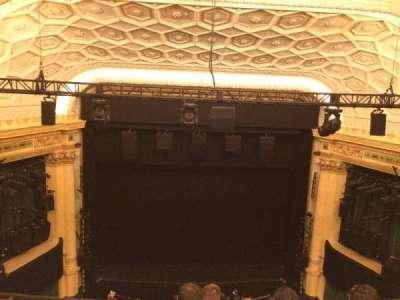 Hudson Theatre, vak: Balcony, rij: E, stoel: 107