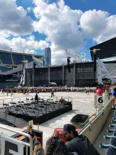 Soldier Field, vak: 110, rij: 2, stoel: 19