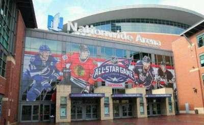 Nationwide Arena, vak: Outside