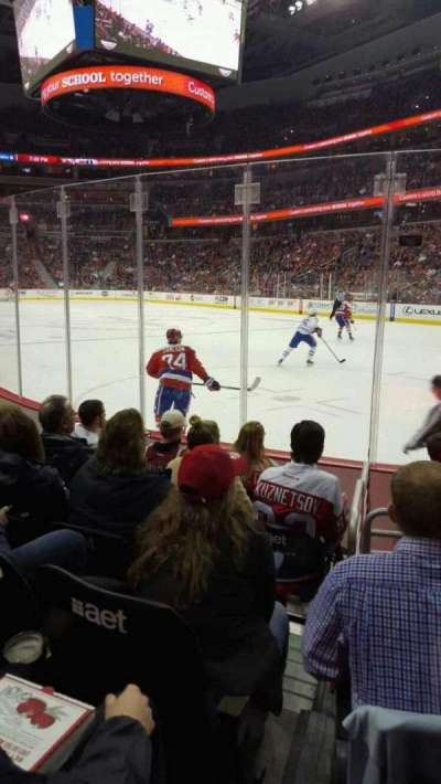Capital One Arena, vak: 103, rij: F, stoel: 8