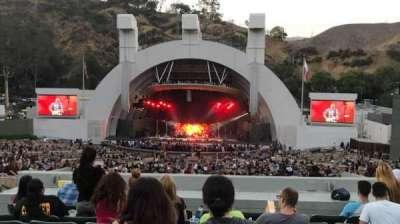 Hollywood Bowl, vak: G1, rij: 11, stoel: 17