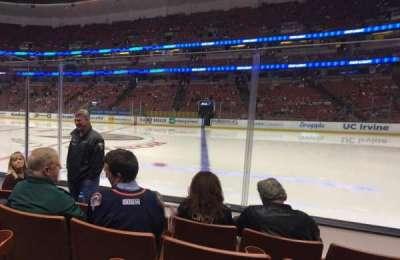 Honda Center, vak: 221, rij: D, stoel: 10