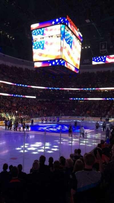 Honda Center, vak: 226, rij: K