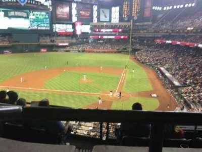 Chase Field, vak: Suite 41, rij: 1, stoel: 6