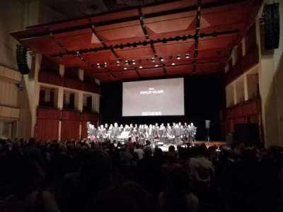The Kennedy Center Concert Hall, vak: Orchestra, rij: Q, stoel: 8