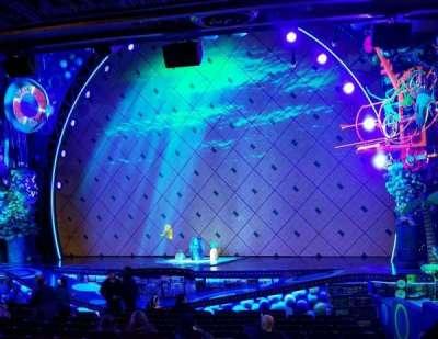 Palace Theatre (Broadway), vak: Orch, rij: P, stoel: 4