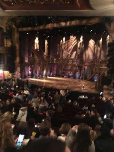 Richard Rodgers Theatre, vak: Orchestra, rij: Q, stoel: 22
