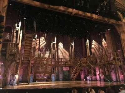 Richard Rodgers Theatre, vak: ORCH, rij: H, stoel: 3