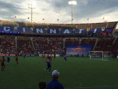 Nippert Stadium, vak: 120, rij: 6, stoel: 10