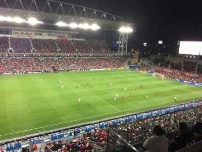 BMO Field, vak: 209, rij: 6, stoel: 6