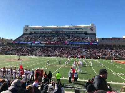 Alumni Stadium, vak: S, rij: 16, stoel: 1