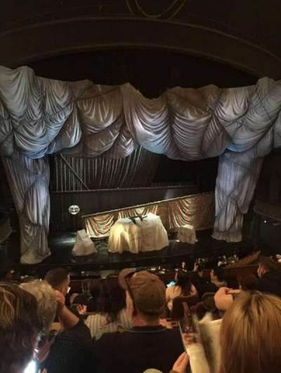 Majestic Theatre, vak: FMEZO, rij: G, stoel: 2