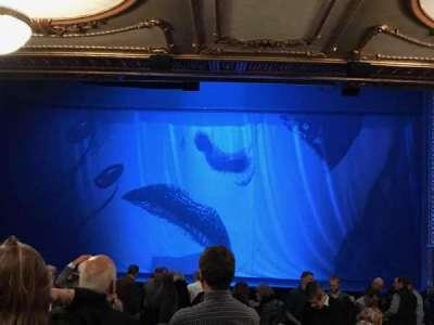 Palace Theatre (Broadway), vak: Orchestra, rij: W, stoel: 108