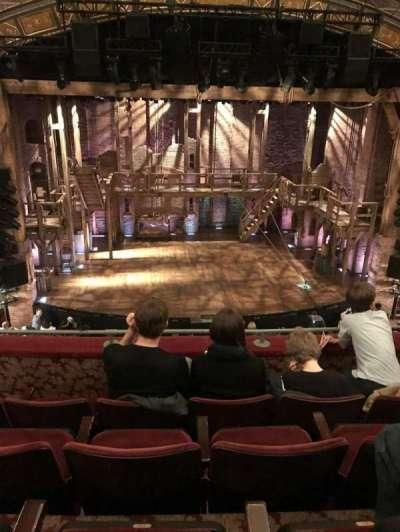 Richard Rodgers Theatre, vak: Mezzanine, rij: D, stoel: 112