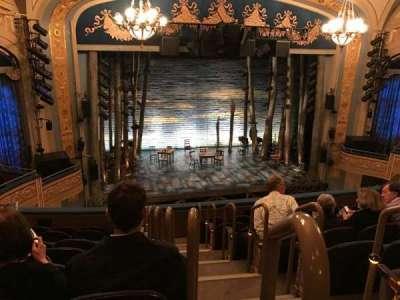 Gerald Schoenfeld Theatre, vak: Mezzanine, rij: H, stoel: 1